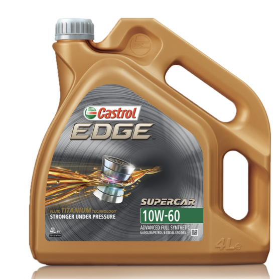 Castrol EDGE TITANIUM 10W/60 4ltr