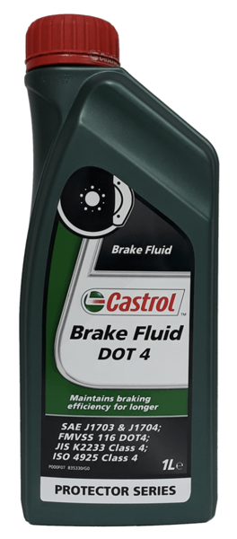 BRAKE FLUID DOT4 1ltr