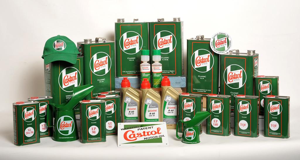 Castrol classic oils mobil shell labākās eļļas